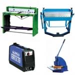 Комплект ручного оборудования для производства прямоугольных дымоходов